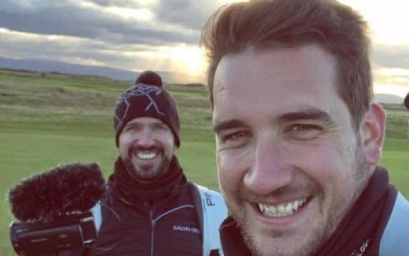 Peter Finch and Andy Carter's #GaryPlayerx10Challenge in full swing