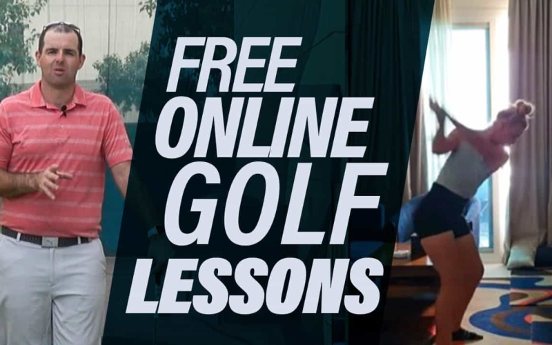 Free online golf lessons from the comfort of your home