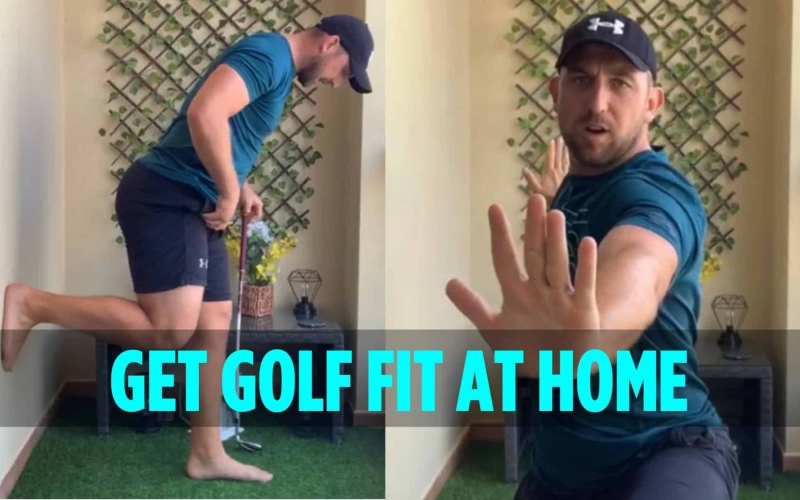 Get golf fit at home | By Richard Dunsby
