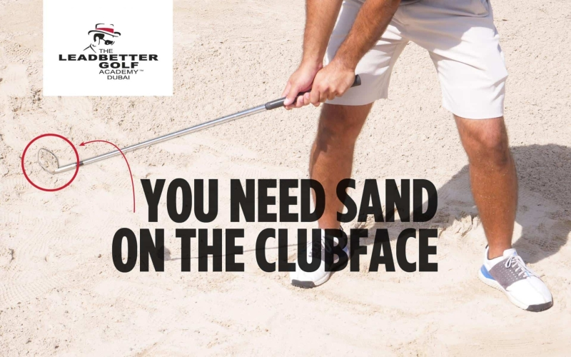You need sand on the club face | By Yasin Ali