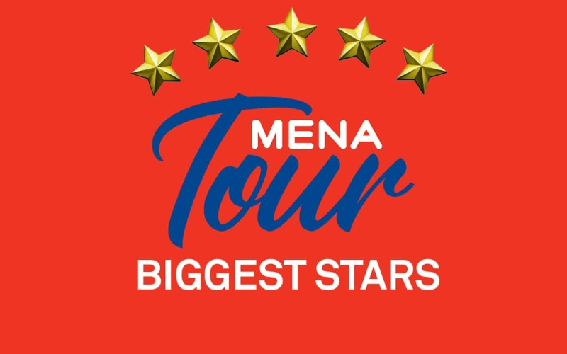 Biggest names to play on the MENA Tour