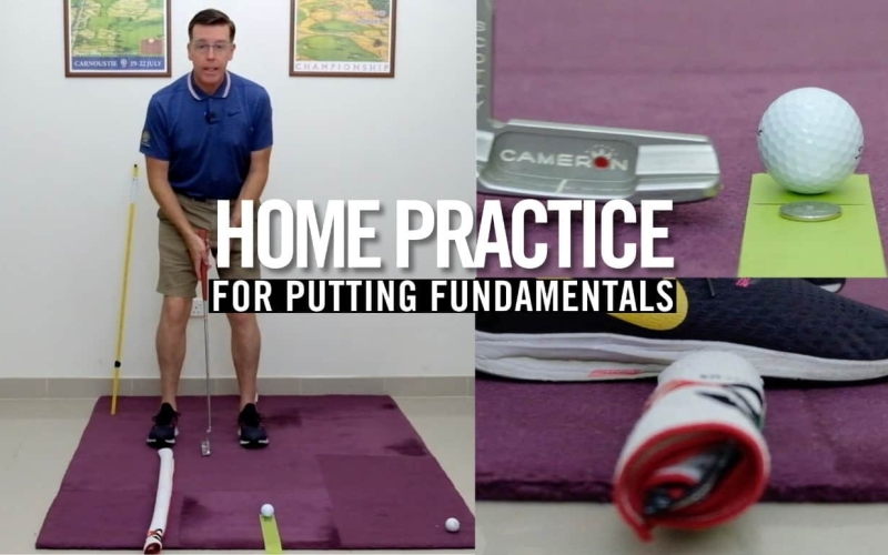 Home Practice for Putting Fundamentals | By Malcolm Young
