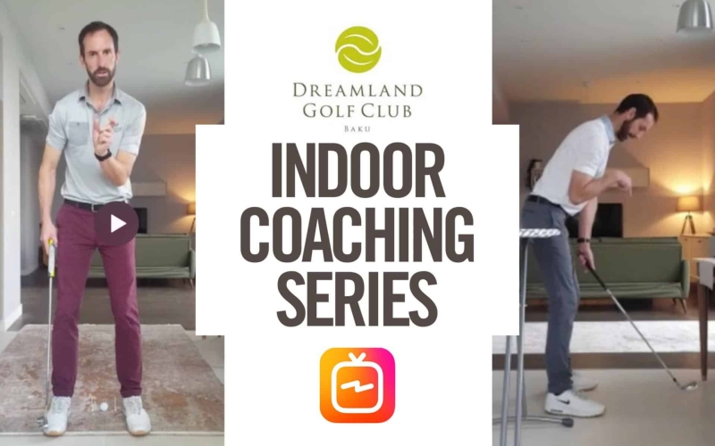 Dreamland Golf Club's Alex Day delivers indoor coaching series