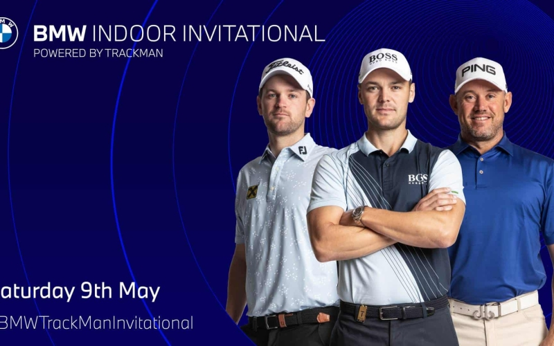 European Tour stars to compete virtually in BMW Indoor Invitational powered by TrackMan
