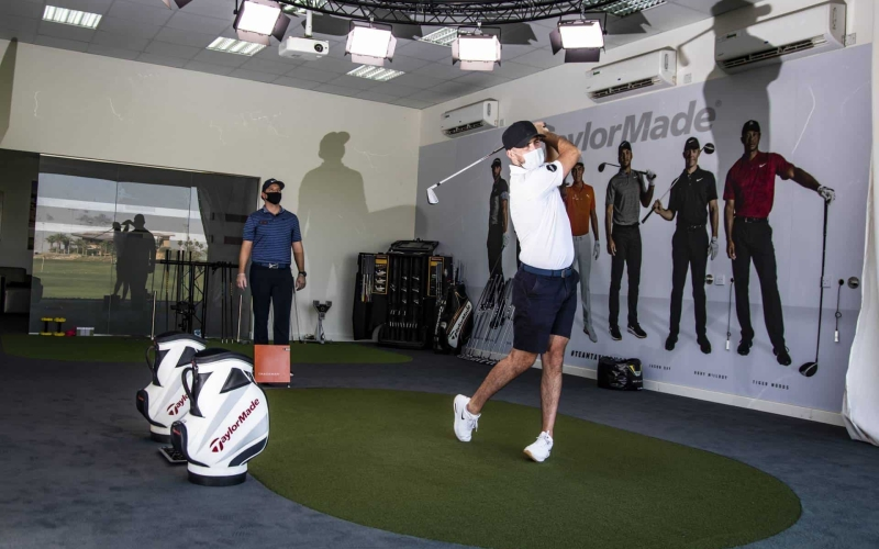 Trump Dubai's TrackMan Virtual Golf Simulator is perfect for this summer