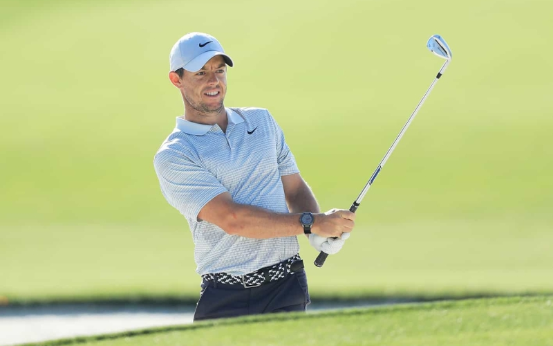 Rory McIlroy instils play-over-practice routine to good effect