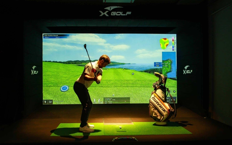 X-Golf Simulators: The most realistic version of the game – indoors