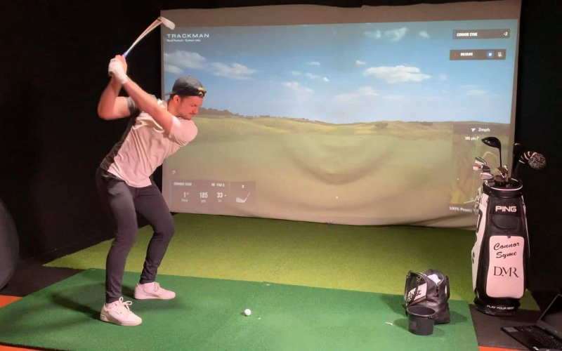 Syme triumphs in BMW Indoor Invitational powered by TrackMan at Royal Portrush