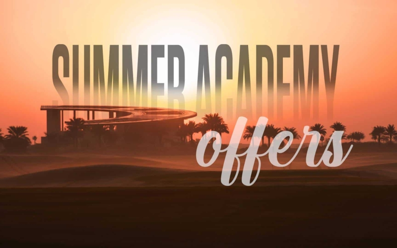 Trump Golf Dubai has two excellent Summer Academy packages to help improve your game