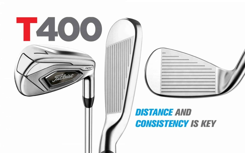 Titleist T400 Irons: Distance and consistency is key
