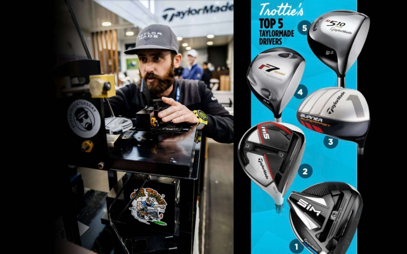 Trottie Golf's top five TaylorMade drivers of all time
