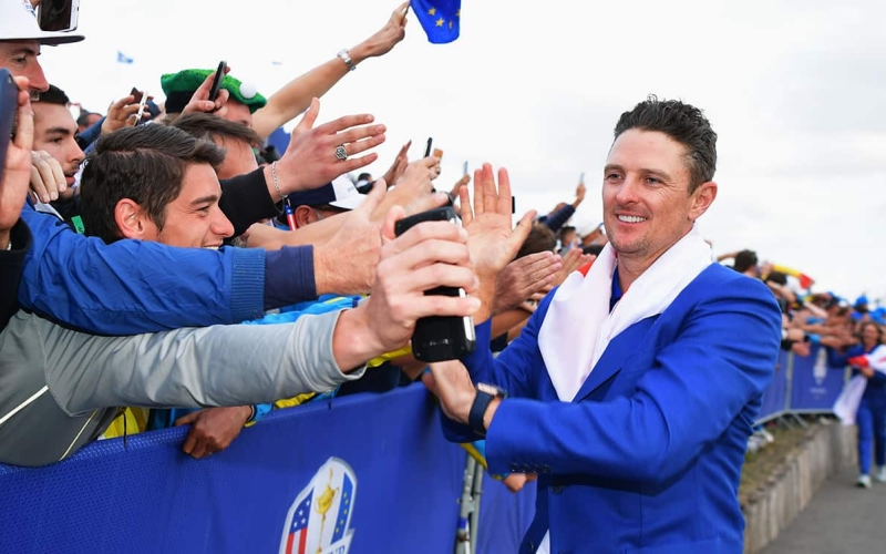 Justin Rose open to a Ryder Cup with no fans