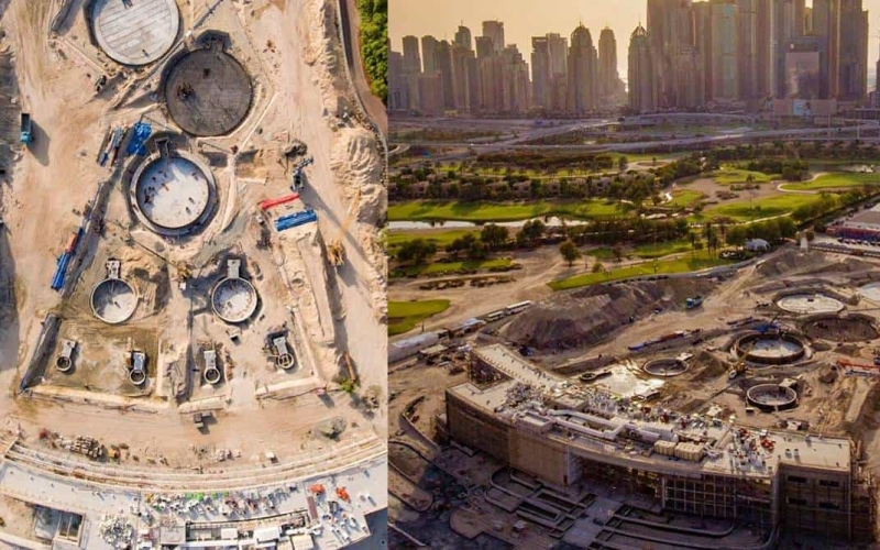 Topgolf Dubai share pictorial progress update