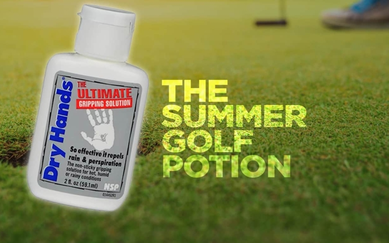 The summer potion for playing golf in Dubai