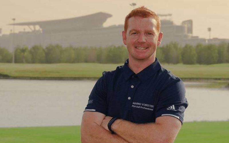 MEET THE PRO: Marno Vorster at The Track Meydan Golf