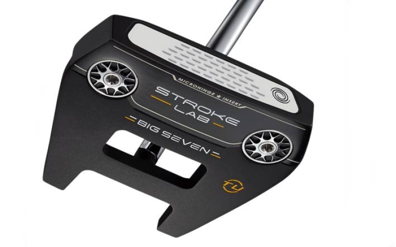 Odyssey expands #7 putter with Stroke Lab Black 'Toe Up' version