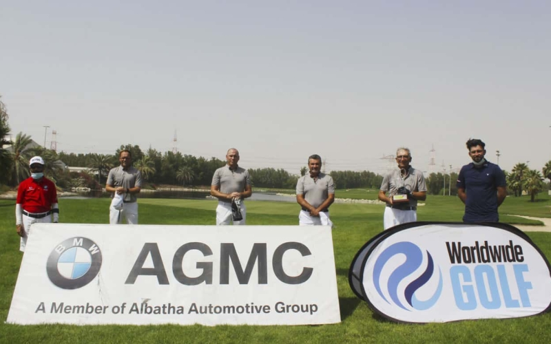 White Rose finally breakthrough in the Sharjah Golf Society League