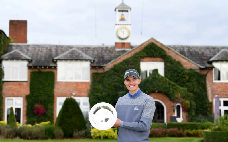 Rasmus Højgaard tops UK Swing Order of Merit following UK Championship triumph