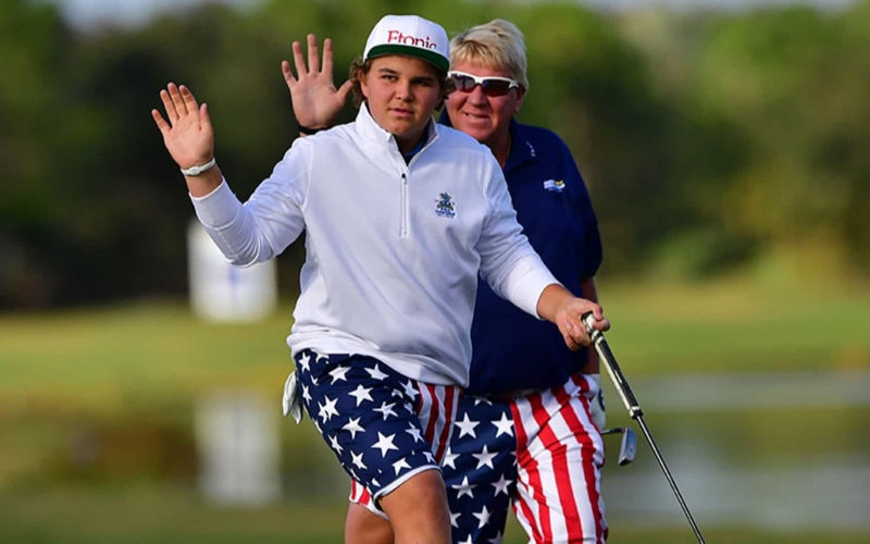 John Daly Jr – Chip off the old block