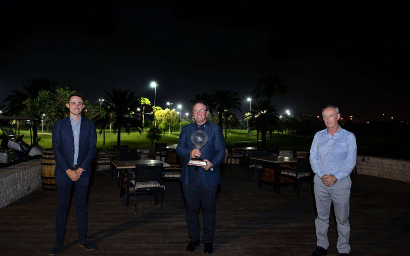 Steve Kelbrick and Ahmad Skaik reflect on Dubai Golf Trophy triumph