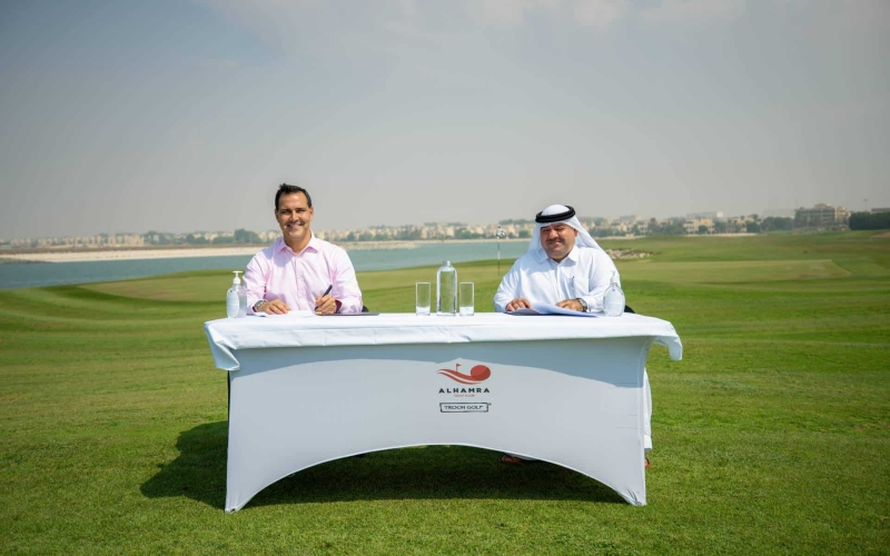 Al Hamra Golf Club set to host region's biggest junior amateur event