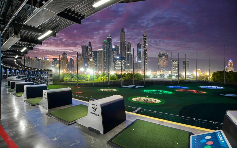 Topgolf opens its doors in the UAE at Emirates Golf Club