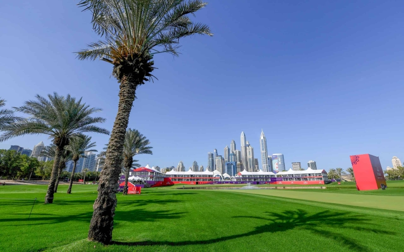 How to play the 18th hole on the Majlis at Emirates Golf Club | By Jonathan Craddock