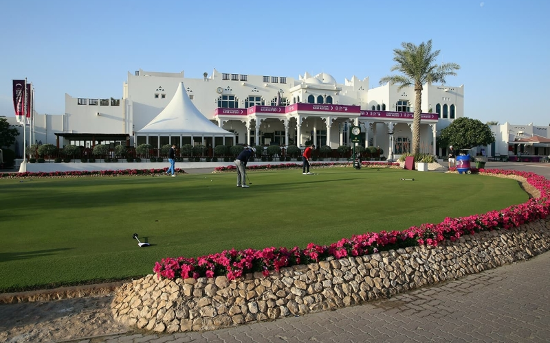 Spectacular double green to be built at Doha Golf Club