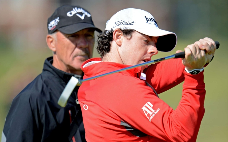 Rory McIlroy teams up with Pete Cowen