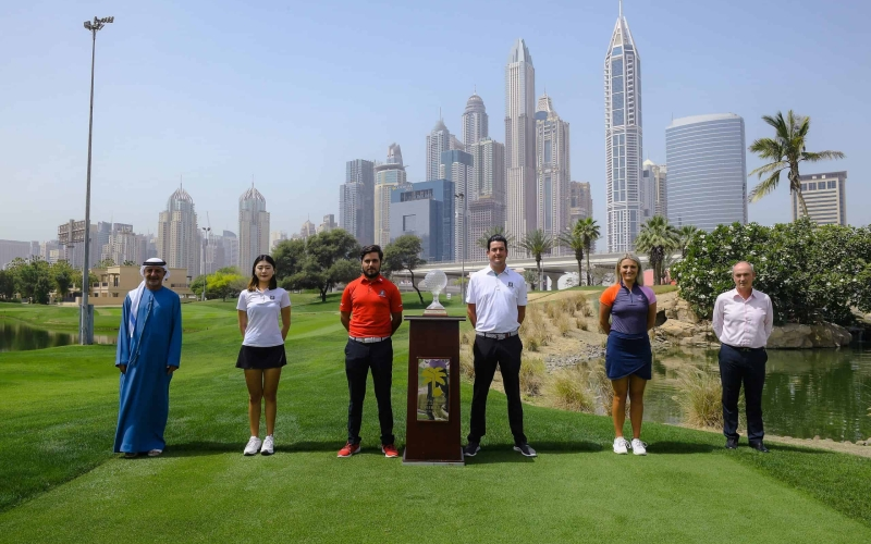 Teams announced for the 2021 Dubai Golf Trophy