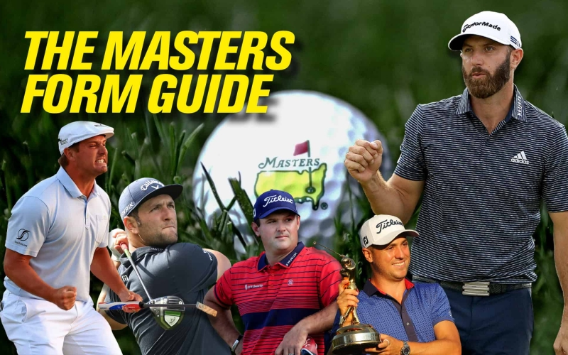 The 2021 Masters Form Guide Part 1