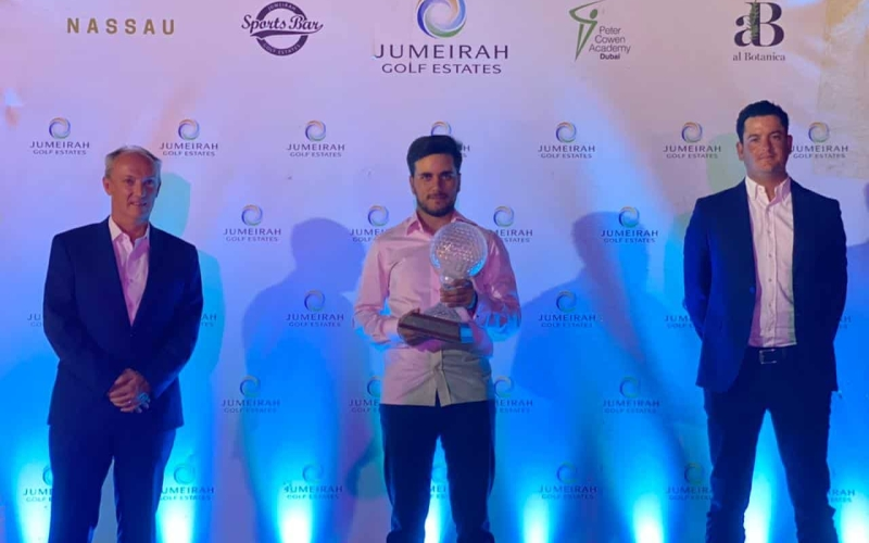 History maker Ahmad Skaik leads amateurs to six-peat at Dubai Golf Trophy