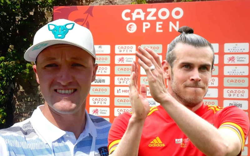 Poppleton scores in Wales with an assist from Gareth Bale