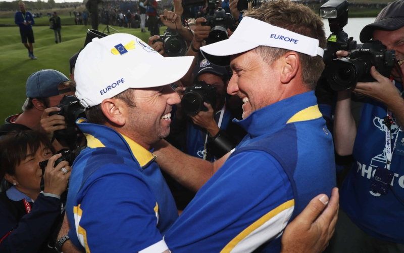 Garcia, Poulter and Lowry secure Ryder Cup Captain's Picks