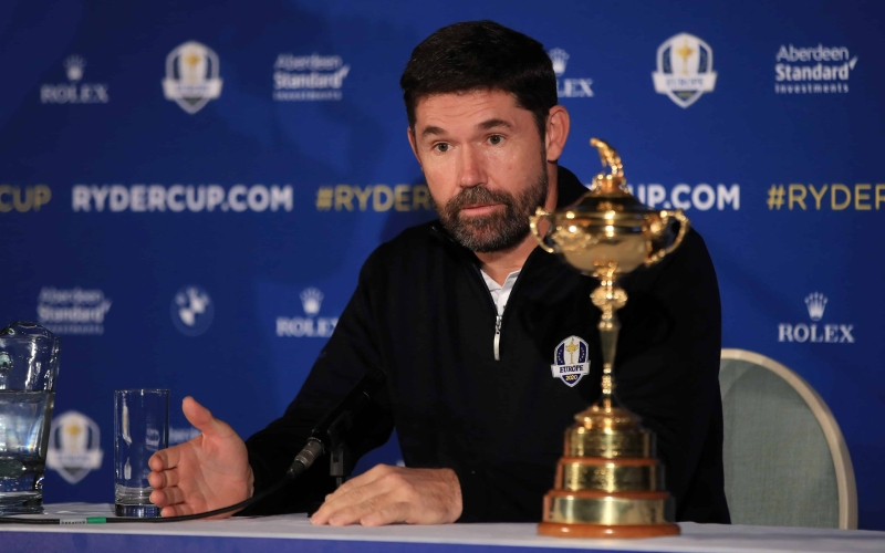 David Howell: Padraig's squad can capture The Ryder Cup