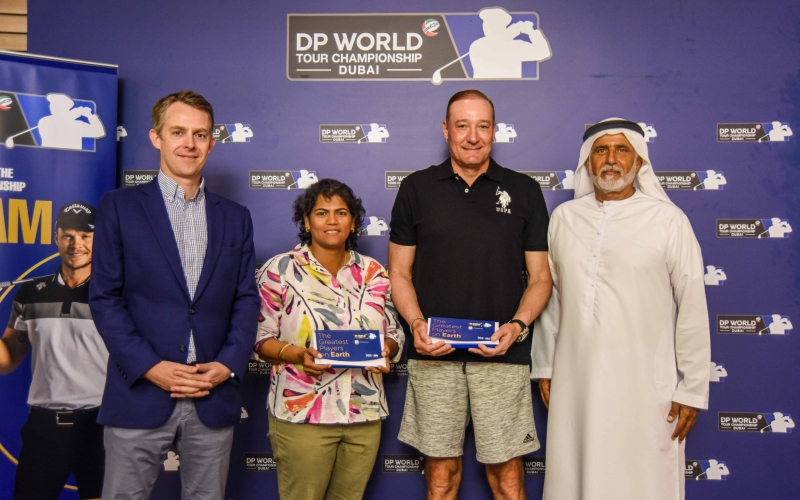 Win a DP World Tour Championship Pro-Am place with the Luckiest Ball on Earth