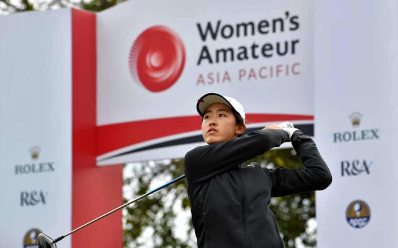 Top players inspired to use Women's Amateur Asia-Pacific Championship in Abu Dhabi as launchpad