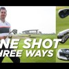 Short Game: One shot, three ways