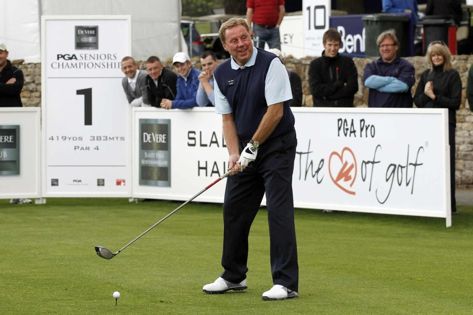 Just One Chance Left To Play Alongside Harry Redknapp Mike Tindall