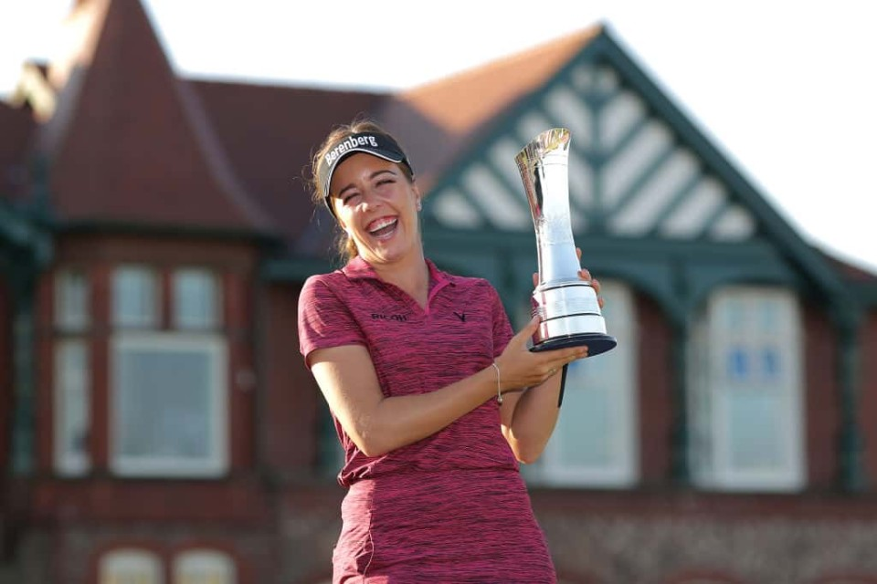 English golf in the spotlight after hat-trick of victories 7073071a6ec