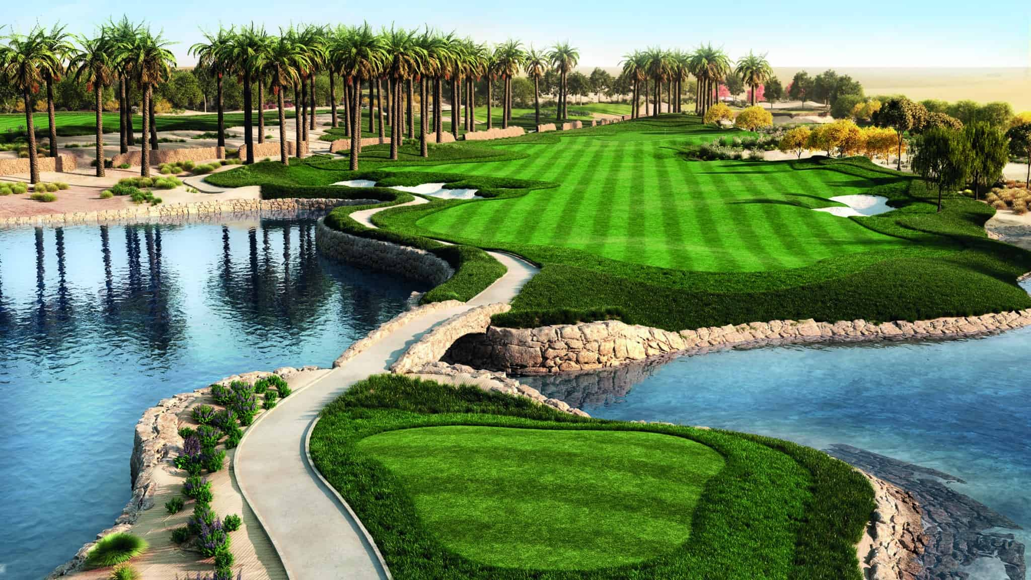 golf qatar club international course desert yardstick golfcourse tour
