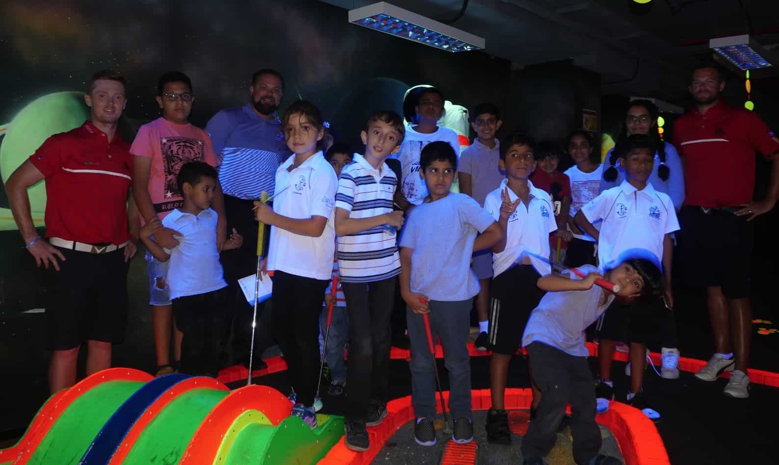 Video Egf Youngsters Enjoy Crazy Round At Tee Amp Putt Mini