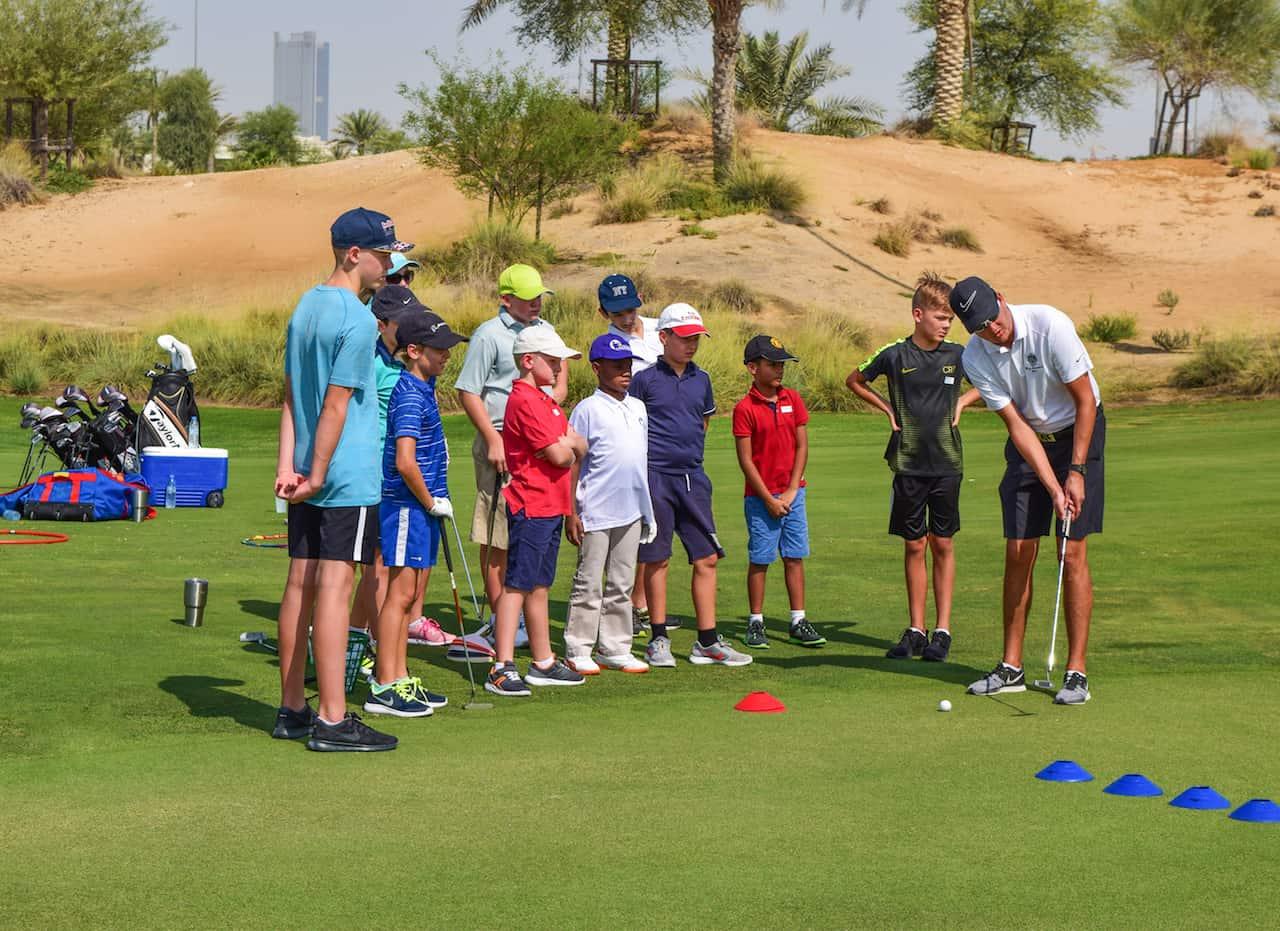 Coaching Golf S Future At Trump International Golf Club Dubai