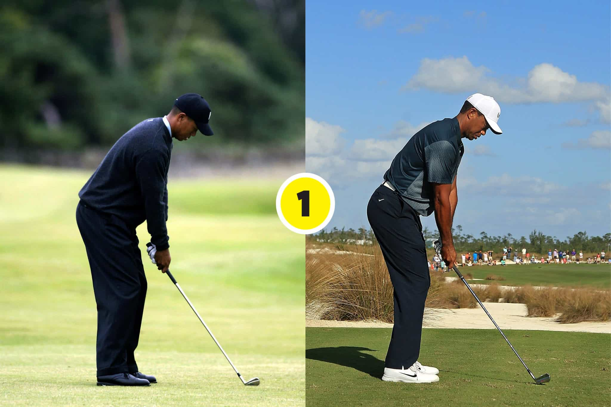 Swing Sequence By Pete Cowen Tiger S Swings Compared