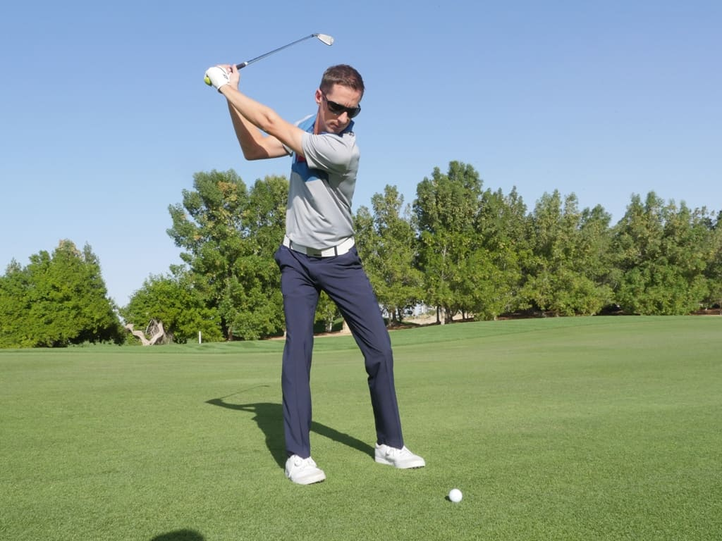 Charge up your golf swing