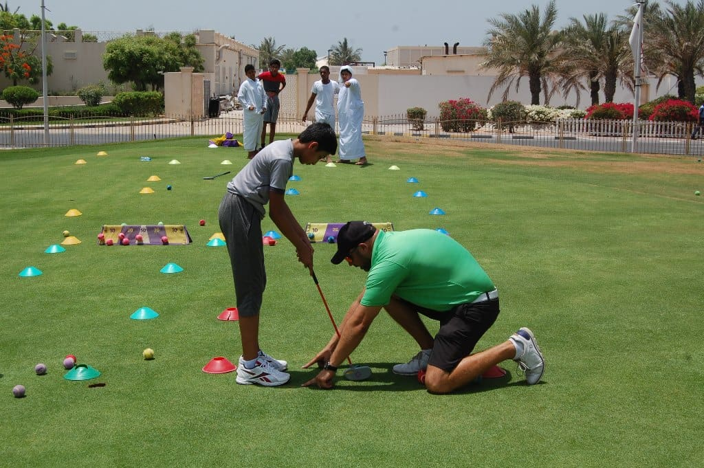 Emirates Golf Federation provide pathway for success for local school kids ahead of  Ras Al Khaimah Challenge Tour Grand Final