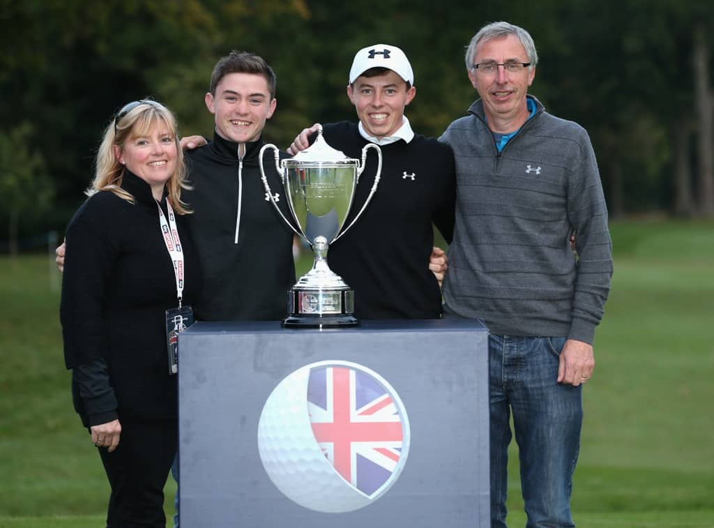 Matt Fitzpatrick: Aiming for another double