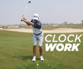 Control your distance using the 'clockface' drill   By Jaco Stander (Saadiyat Beach Golf Club)