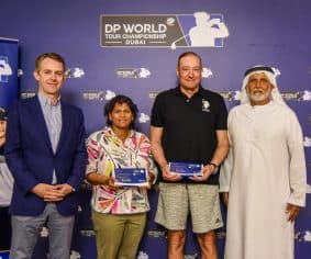 Xavier and Refai complete Luckiest Ball on Earth pro-am team for DP World Tour Championship