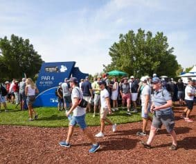 DP World Tour Championship takes step towards better health with walking map